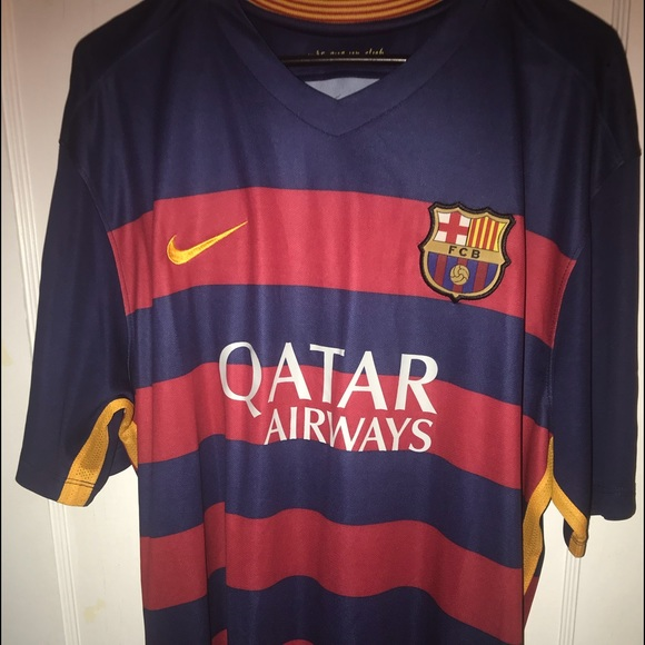 finest selection 21c39 85245 Brand new Nike Suarez/ Barcelona jersey NWT